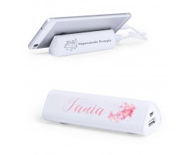 power bank personalizada con nombre