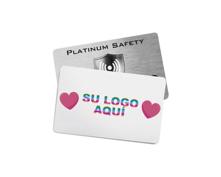 tarjeta RFID personalizada con logotipo