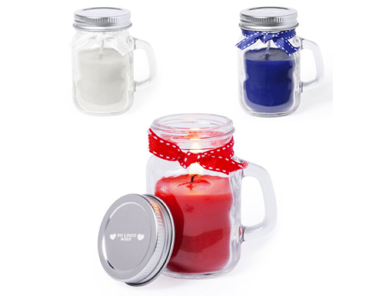 compra regalo promocional personalizado para empresas vela aromática