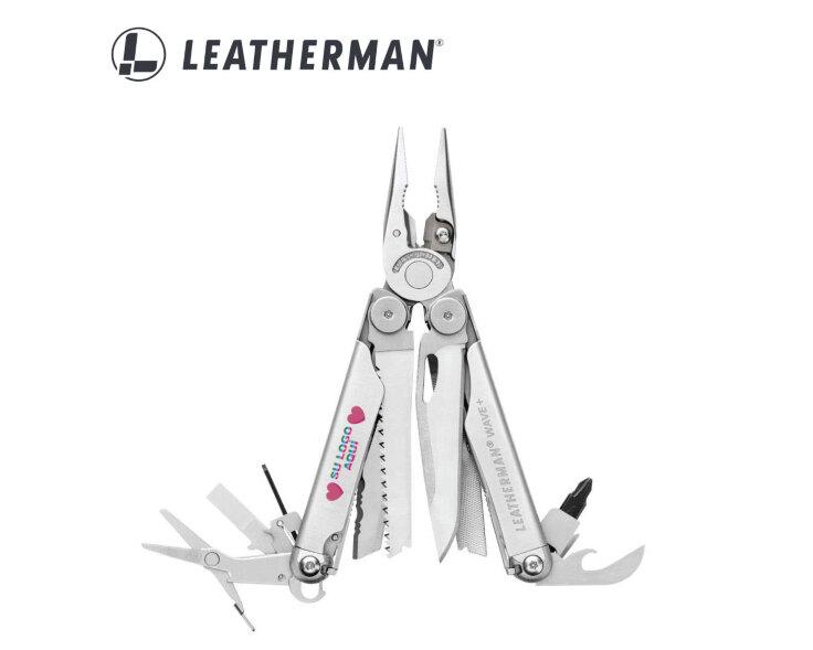 multiherramienta leatherman personalizada