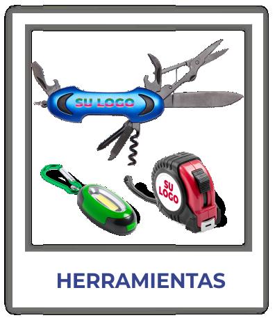 Herramientas personalizadas con logo