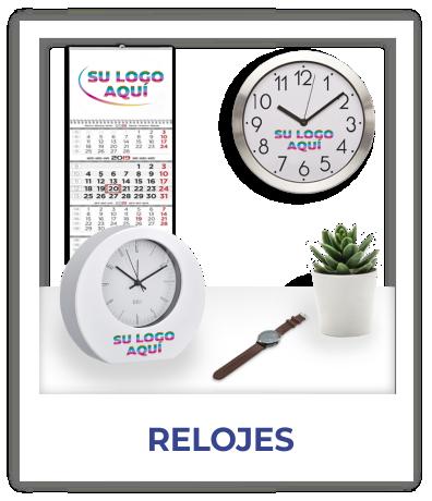 relojes personalizados publicitarios con logotipo