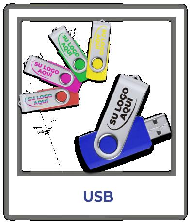 Memorias USB Pendrives personalizas con logo baratas